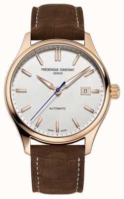 Frederique Constant 经典索引自动镀玫瑰金表壳 FC-303NV5B4