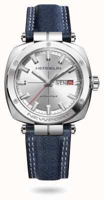 Michel Herbelin 纽波特传承银色太阳纹表盘腕表 1764/AP11BL