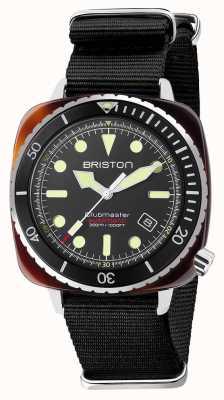 Briston Diver pro 醋酸纤维黑色北约表带 21644.SA.T.1.NB