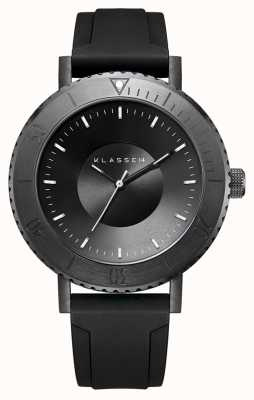 Klasse14 Volare taras 深色 44 毫米黑色硅胶表带 WVT19BK001M