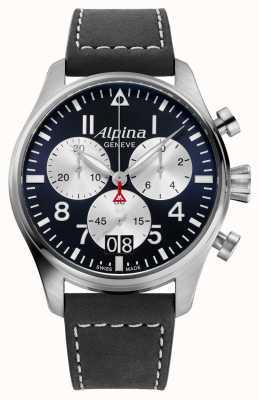 Alpina Starttimer 飞行员石英计时码表 AL-372NS4S6
