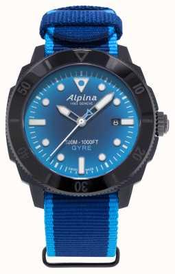 Alpina 限量版 seastrong diver gyre 烟熏蓝色 AL-525LNSB4VG6
