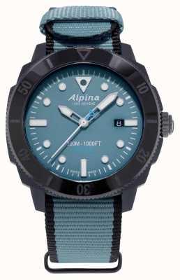 Alpina 限量版 seastrong diver gyre 自动 蓝色 AL-525LNB4VG6BLK