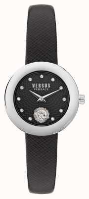 Versus Versace 对比 lea petite extensi 黑色表带 VSPZJ0121