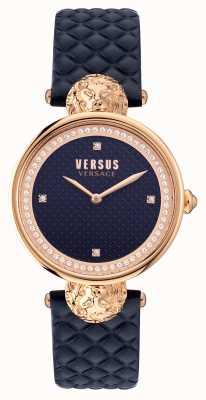 Versus Versace Versus South bay 绗缝蓝色表带 VSPZU0321