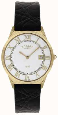 Rotary 男士超薄系列皮革表带 GS08003/01